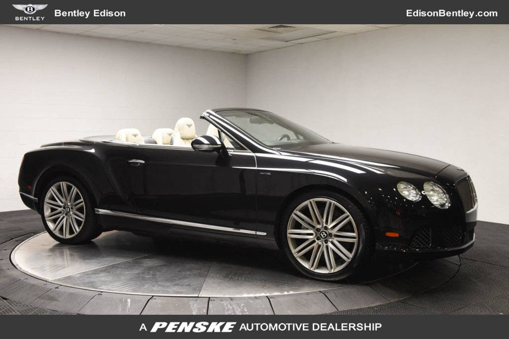 Pre-Owned 2014 Bentley Continental GT Speed 2dr Convertible